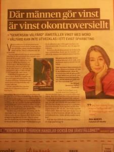 Åsa Moberg bild om vinst I DS 20130308_060110