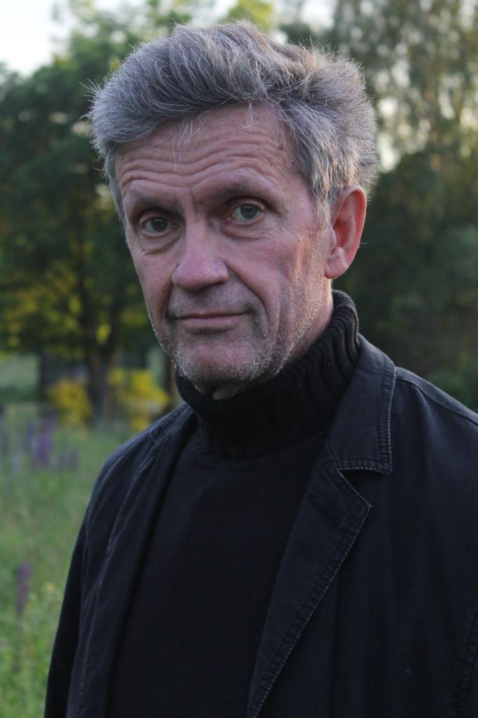 Åke Sandberg - på ön