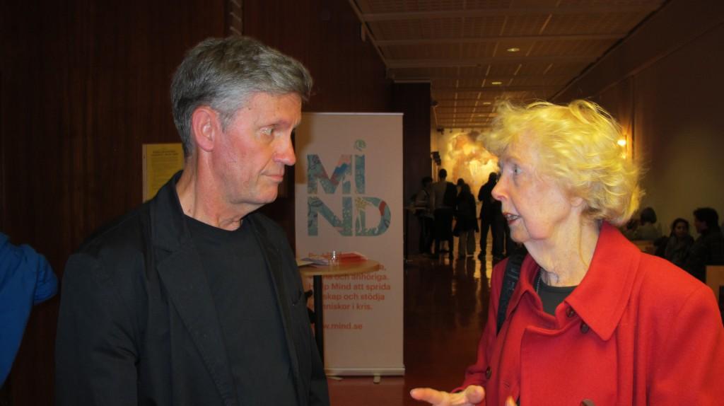 ABF 1 sept 2014 Makten... Gunnela Westlander och Åke Sandberg Kenneth A foto