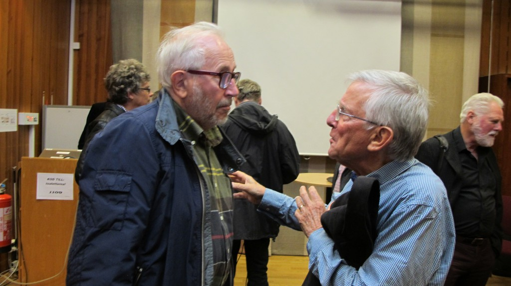 Eftersnack: Torsten Björkman och Russell Lansbury