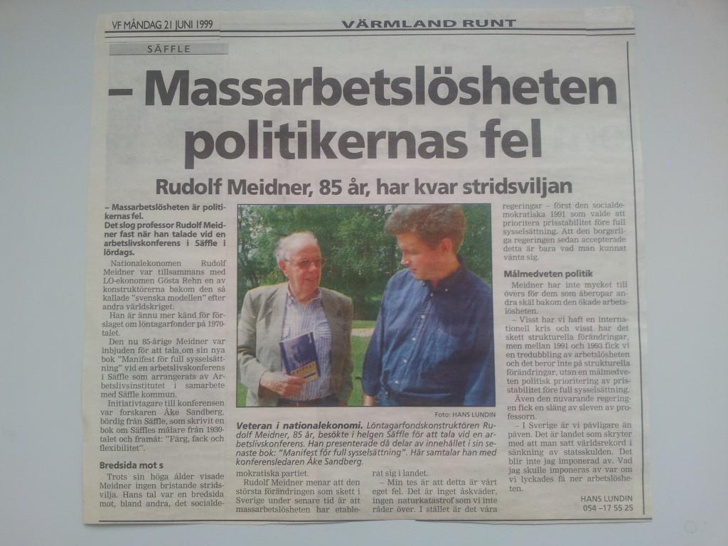 Säffle konferens 1999 VF Meidner