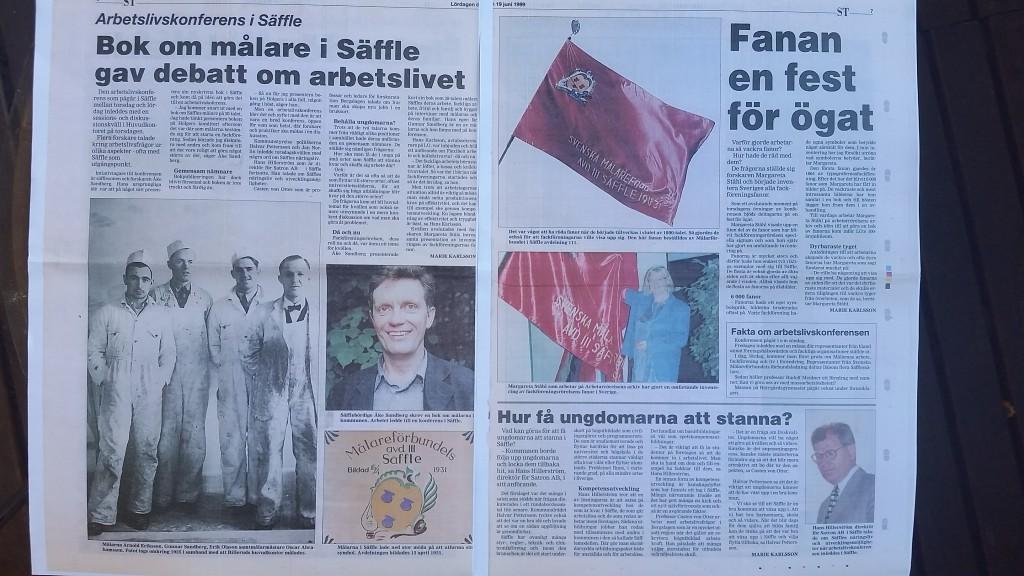 Säffles målare konferens 1999 Säffle-Tidningen