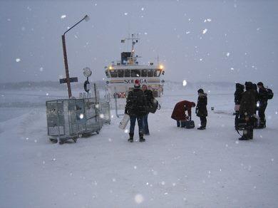 Styrsvik vinter Runmarö