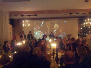 Transtrømer Nobel fest på Hembygdsgården